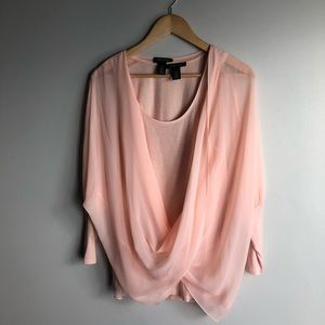 2 in 1 tunic with blouse